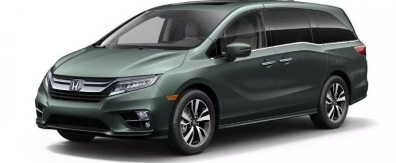 2020 Honda Odyssey AWD Concept, Redesign, Changes