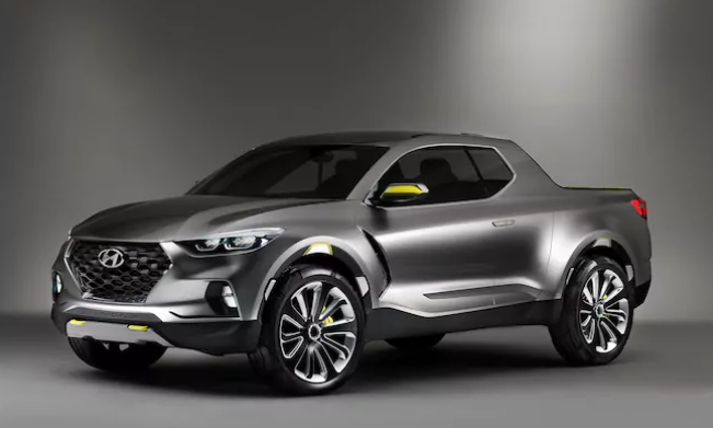 2019 Hyundai Santa Cruz Pickup design