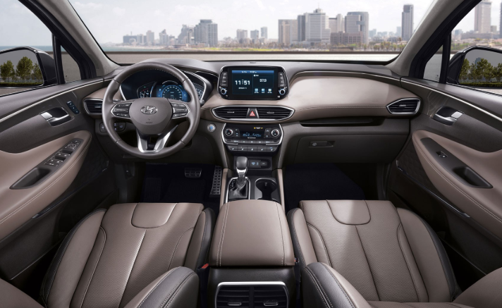 2019 Hyundai Grand Santa Fe interior