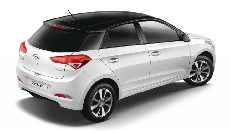 2019 Hyundai i20 Elite design