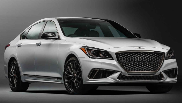 2019 Hyundai Genesis Sports Turbo design