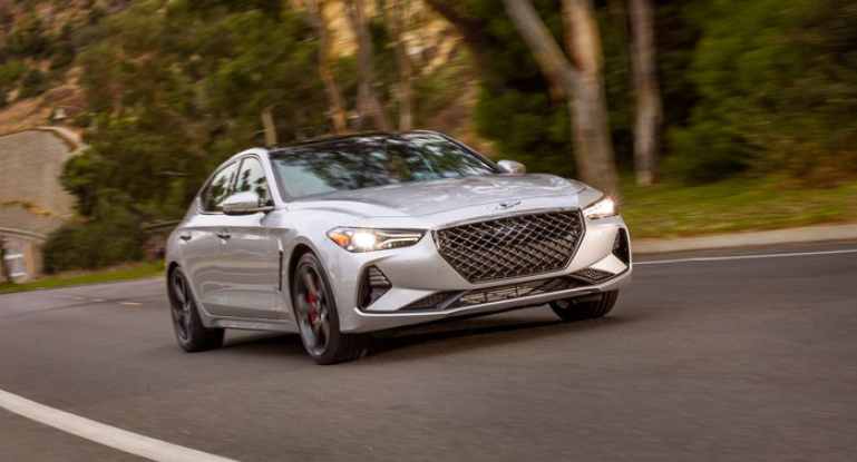 2019 Genesis Coupe Twin Turbo 3.3T 8AT AWD Review, Engine ...