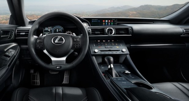 2019 Lexus RC F Coupe new