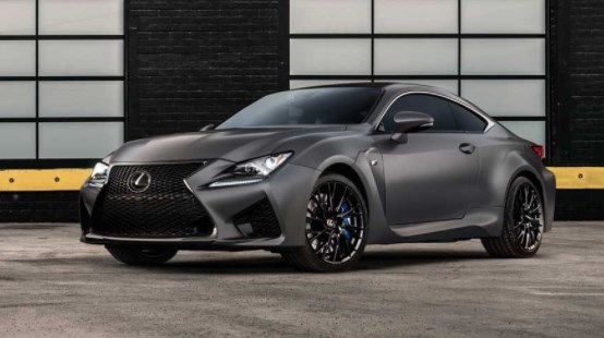 2019 Lexus RC F Coupe design