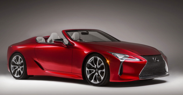 2019 Lexus LC Convertible design