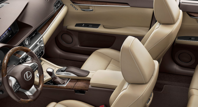 2020 Lexus ES 350 Sedan interior
