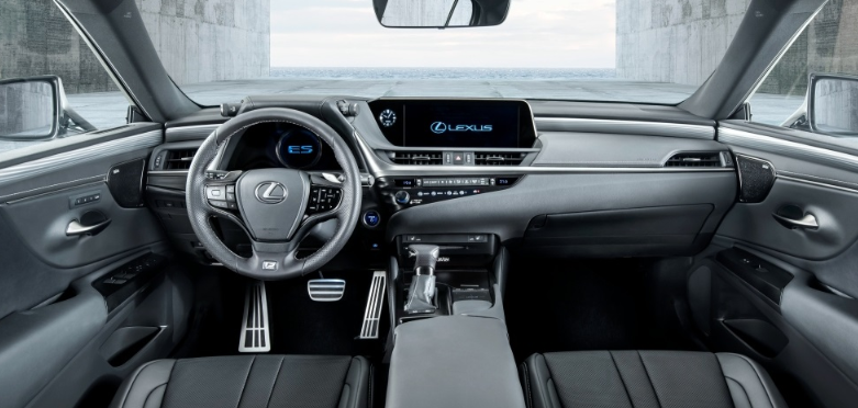 2019 Lexus ES Automatic Transmission design