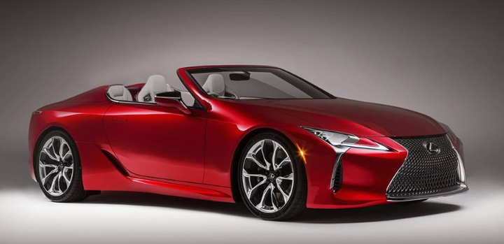 2019 Lexus LC 500 Convertible news