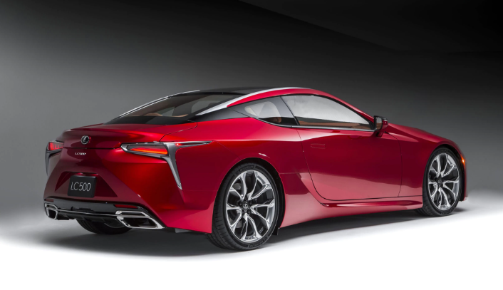 2019 Lexus LC Convertible news