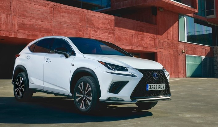 2019 Lexus NX Electric design