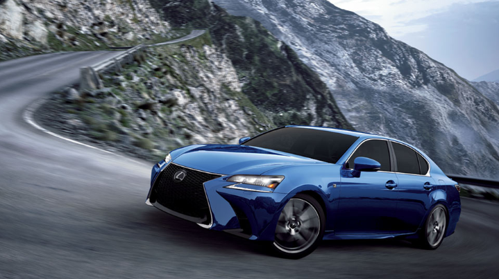 2019 Lexus GS 350 AWD design
