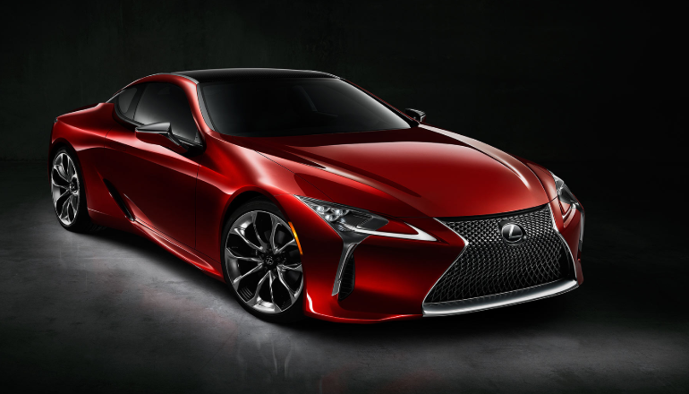 2019 Lexus LC 2+2 Coupe design