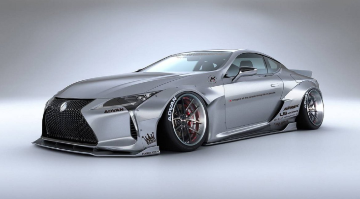 2019 Lexus LC 500h Coupe design