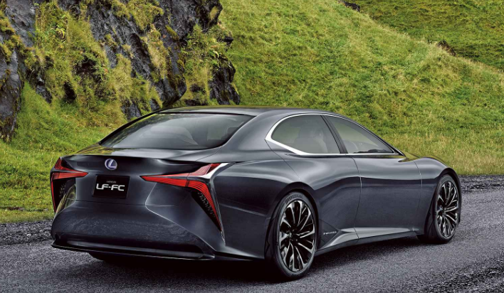 2019 Lexus LF-FC Hydrogen Fuel Cell new