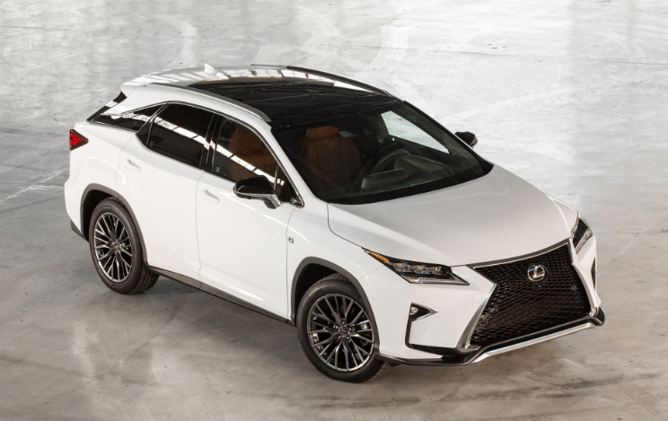 2019 Lexus RX 350 Luxury redesign