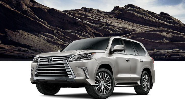 2019 Lexus LX Towing Capacity