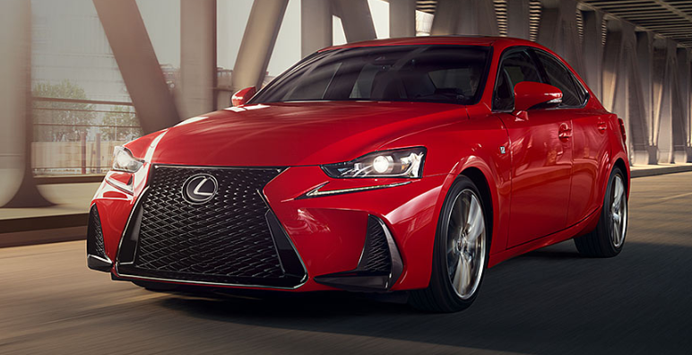 2019 Lexus IS 300 AWD F-Sport release date