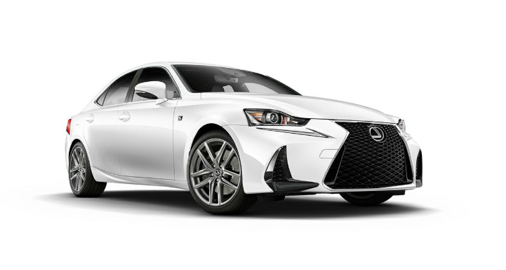 2019 Lexus IS 350 F-Sport AWD redesign
