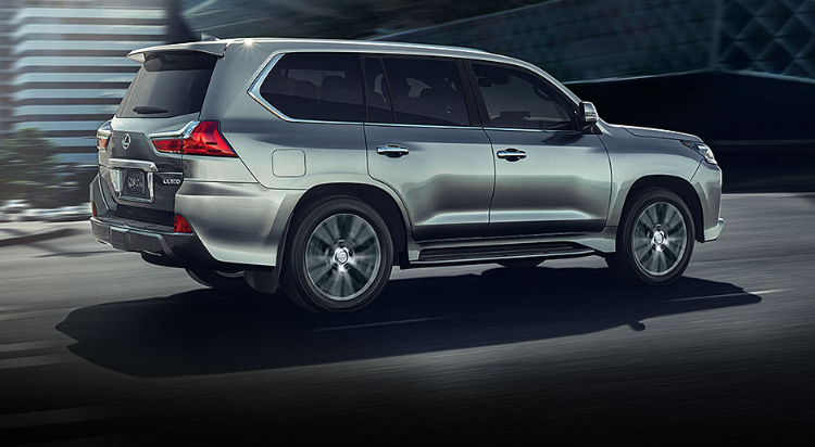 2019 Lexus LX 570 Towing Capacity review