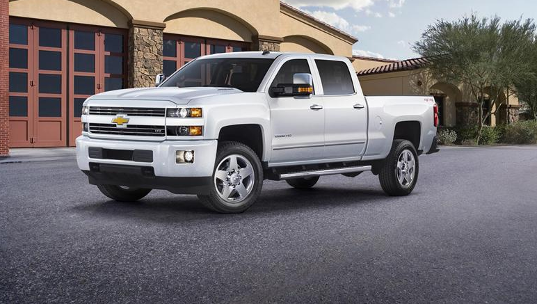 2020 Chevy 2500 High Country redesign