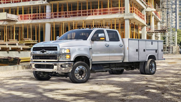 2020 Chevy 5500HD Towing Capacity