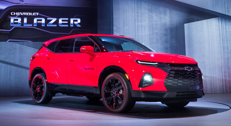 2020 Chevy Blazer RS changes