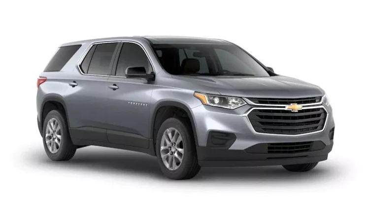 2021 Chevy Traverse new