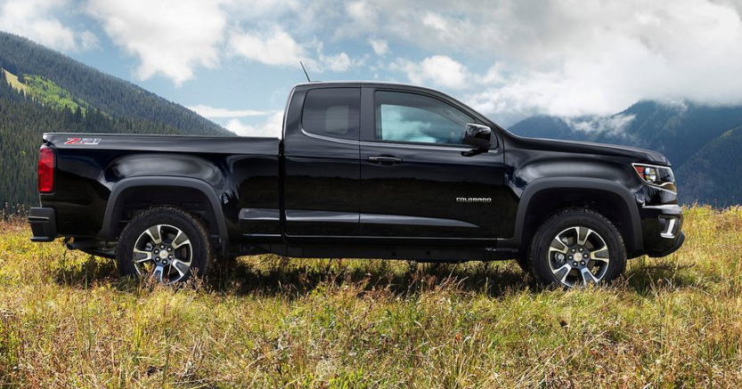 2019 Chevrolet Colorado Extended Cab redesign