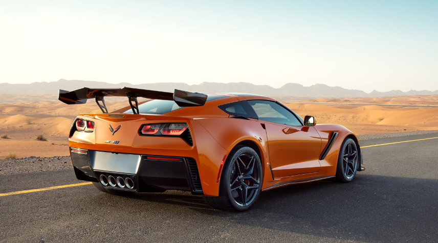 2019 Chevrolet Corvette Coupe design