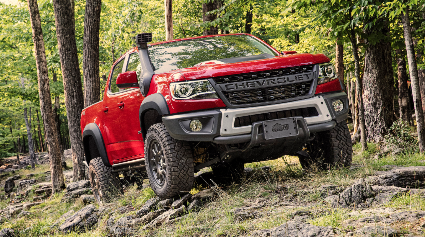 2019 Chevy Colorado ZR2 redesign