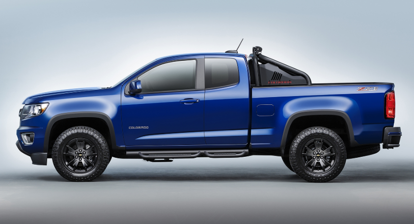 2019 Chevrolet Colorado Z71 Midnight Edition changes