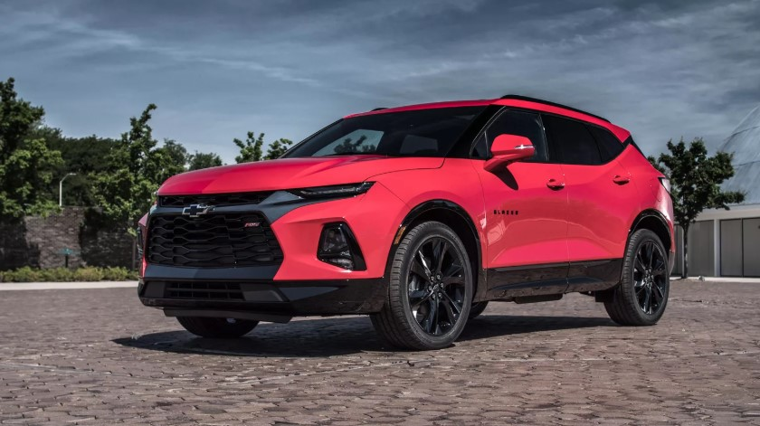 2019 Chevy Blazer changes