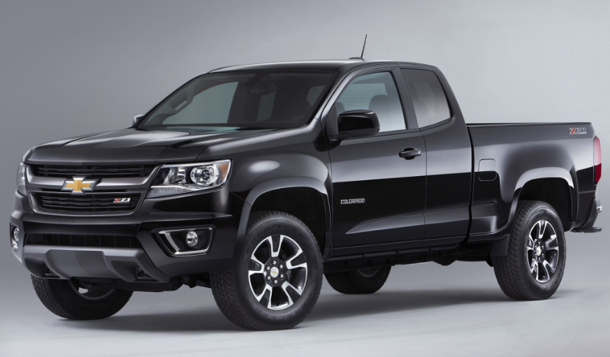 2019 Chevy Colorado Crew Cab design