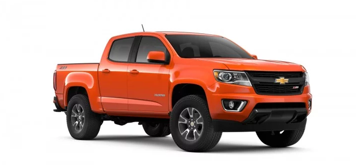 2019 Chevy Colorado Work Truck design