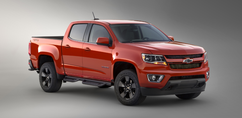 2019 Chevy Colorado Z71 4x4 redesign