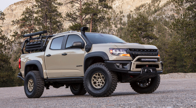 2019 Chevy Colorado ZR2 AEV redesign