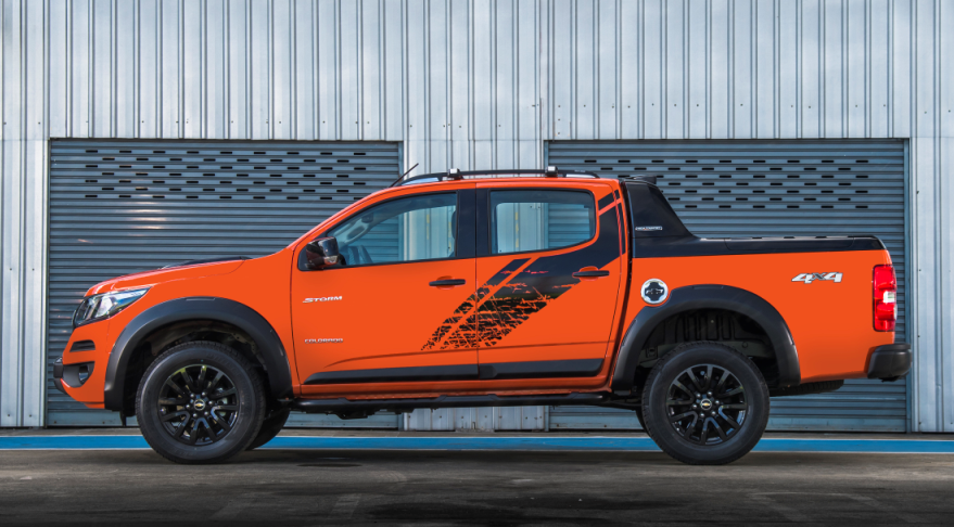 2019 Colorado High Country Storm 4x4 design