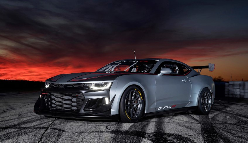 2019 Chevrolet Camaro GT4.R changes
