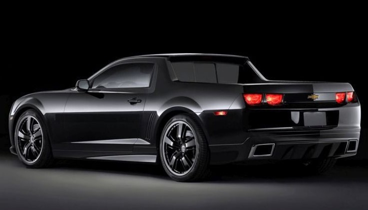 2019 chevrolet el camino black knight concept changes