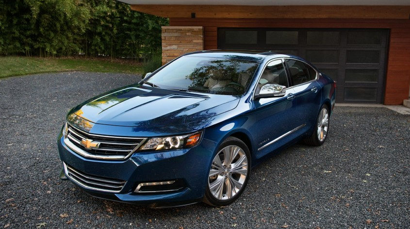 2019 Chevy Impala redesign
