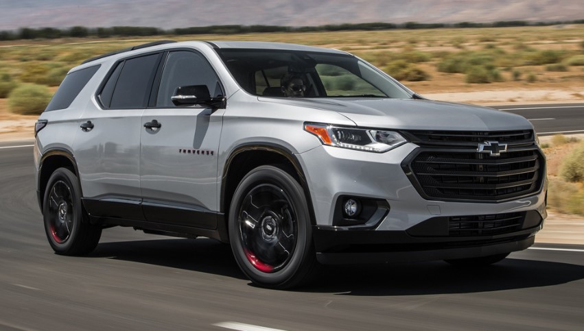 2020 Chevrolet Traverse Redline changes