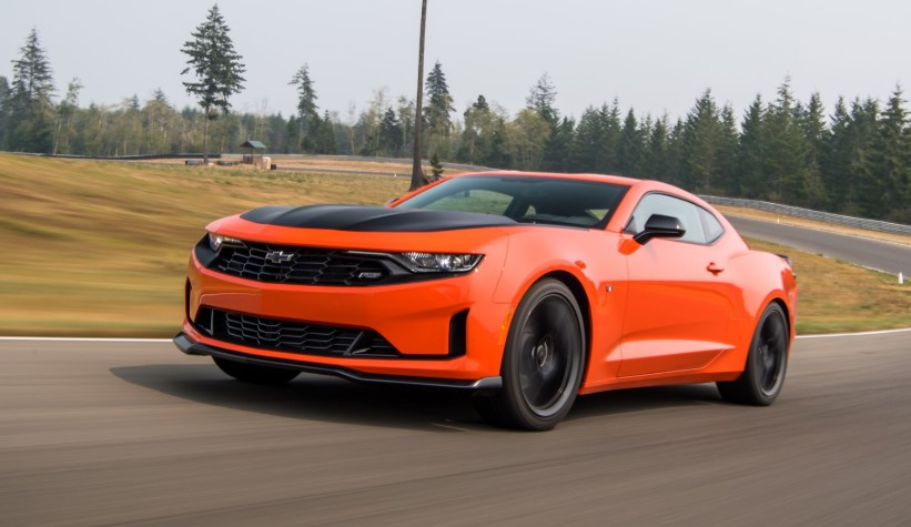 2020 Chevy Camaro Turbo 1LE design