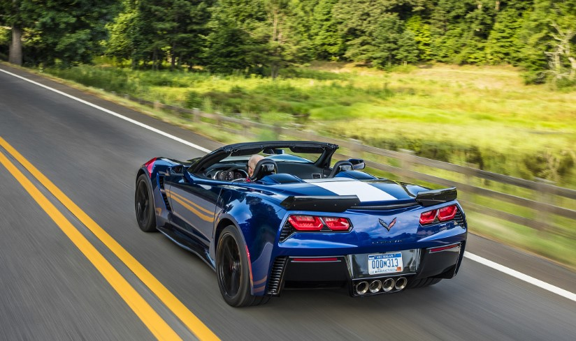2020 Chevrolet Corvette Grand Sport Convertible concept