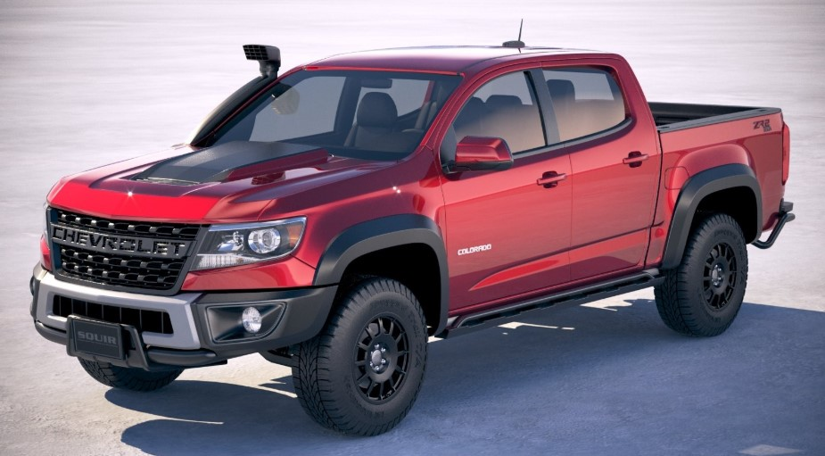2020 Chevy Colorado ZR2 Bison changes
