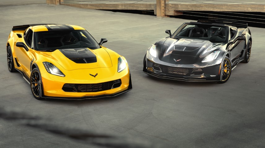2020 Chevy Corvette Z06 C7.R Edition changes