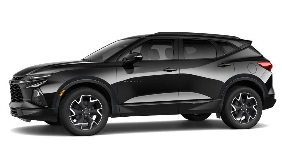 2020 Chevy Blazer SS Black Colors