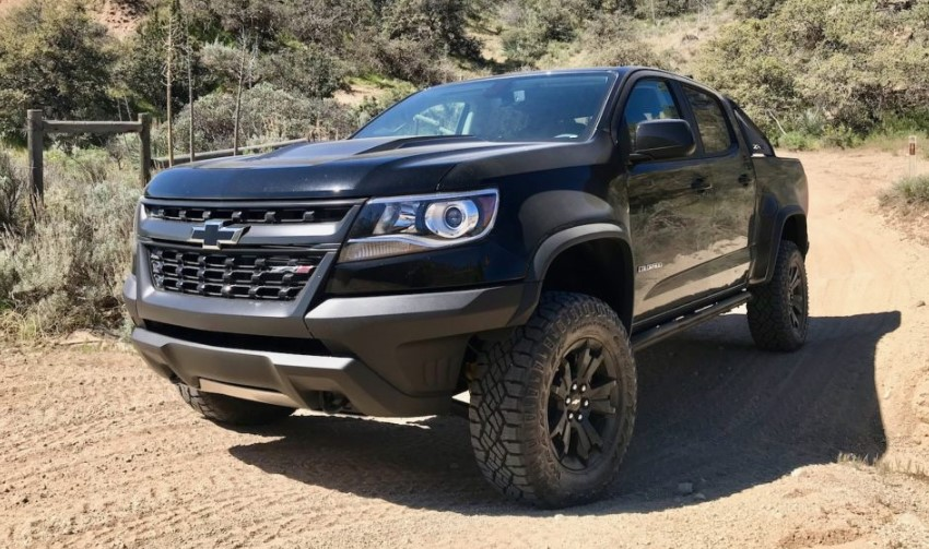 2020 Chevy Colorado Off Road changes