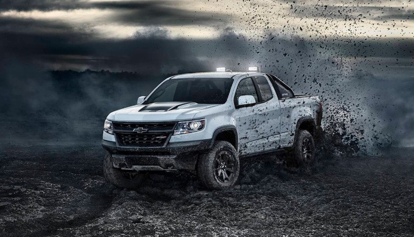 2020 Chevy Colorado ZR2 Dusk changes