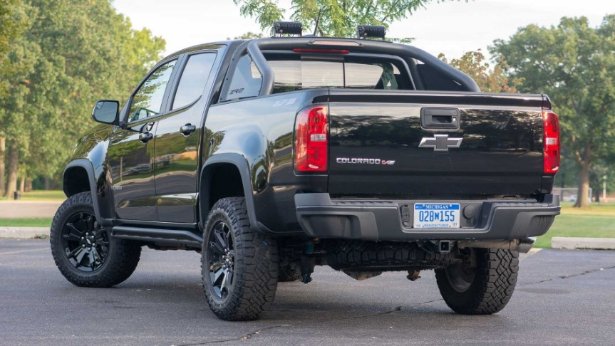 2020 Chevy Colorado ZR2 Midnight Edition changes