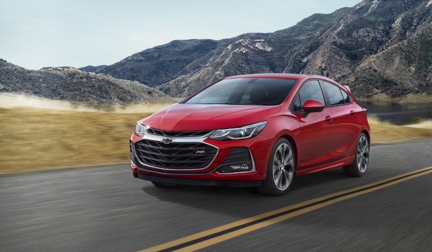 2020 Chevy Cruze SS changes